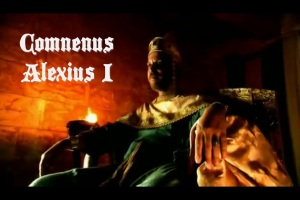 Comnenus Alexius 1, Byzantine emperor (1081-1119) Image from History Channel Crusades: Crescent & The Cross