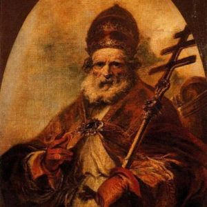 """Saint Leo I, """"Leo The Great"""" pope from 440 to 461. Image from www.biography.com"""